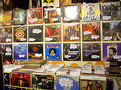 Loads of secondhand, new and collectible vinyl...
